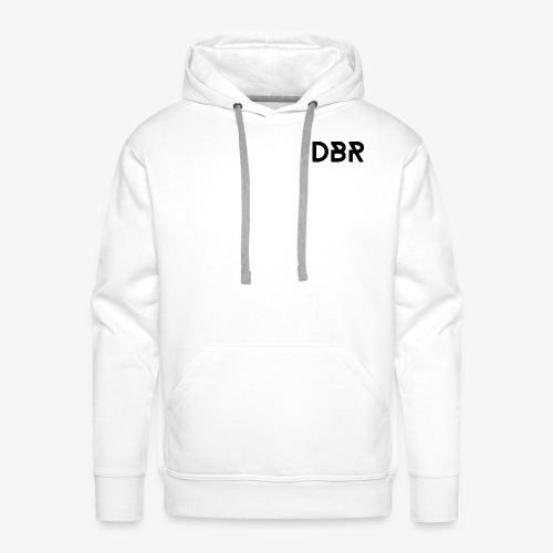 DBR Hoodie - Männer - weiss - Männer Premium Hoodie