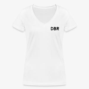 DBR Shirt - V-Ausschnitt - Damen - weiss - Frauen Bio-T-Shirt mit V-Ausschnitt von Stanley & Stella
