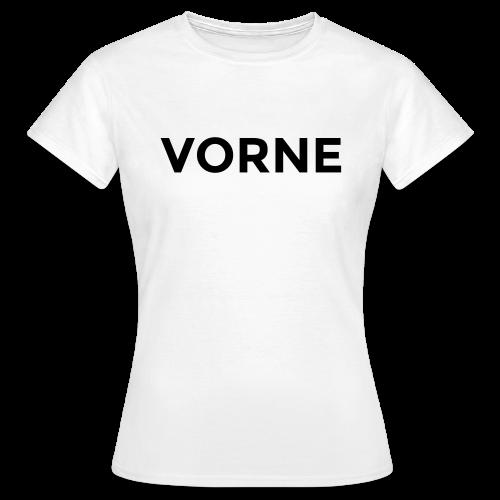 Vorne / Hinten T-Shirt - Frauen T-Shirt