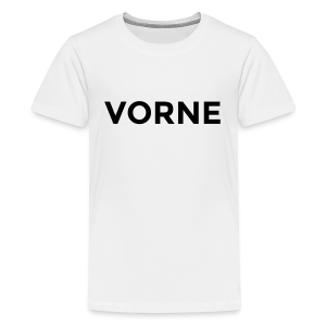 Vorne / Hinten Teenager T-Shirt - Teenager Premium T-Shirt