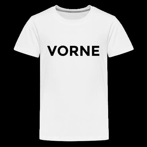 Vorne / Hinten Teenager T-Shirt - Teenager Premium T-Shirt