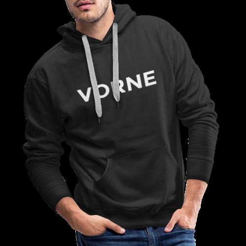 Vorne / Hinten Hoodie - Männer Premium Hoodie