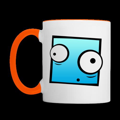 Pixel Cup - Tasse zweifarbig