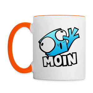 Pixel Moin Show Cup - Left handed - Tasse zweifarbig