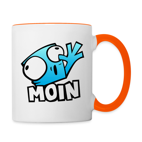 Pixel Moin Show Cup - Right handed - Tasse zweifarbig