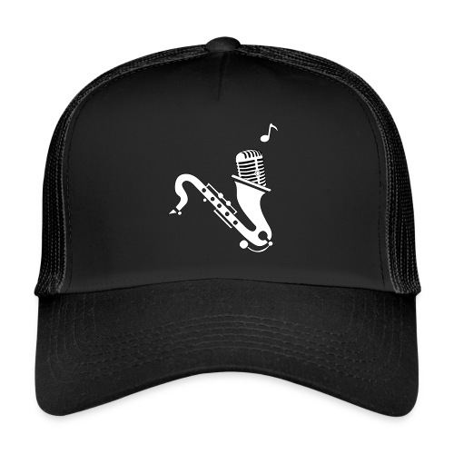 JAZZ MEETS RAP HAT - Trucker Cap