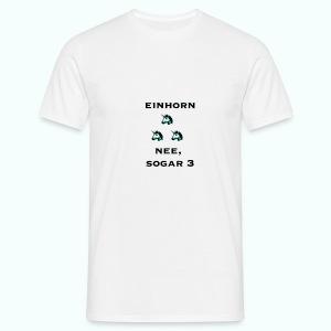 3xeinhorn  T-Shirts - Männer T-Shirt