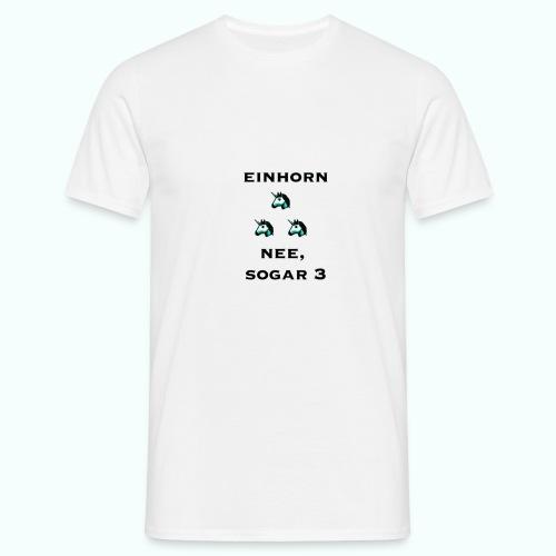 3xeinhorn  T-Shirts - Men's T-Shirt