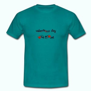 valenteens day  T-Shirts - Men's T-Shirt