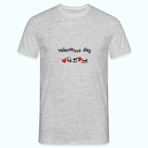 valenteens day  T-Shirts - Men's T-Shirt