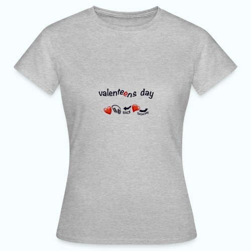 valenteens day  T-Shirts - Women's T-Shirt
