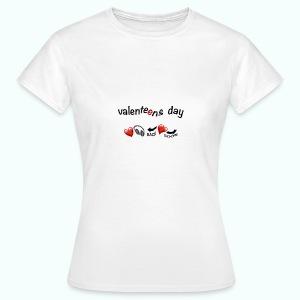valenteens day  T-Shirts - Women's T-Shirt