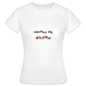 valenteens day  T-Shirts - Frauen T-Shirt