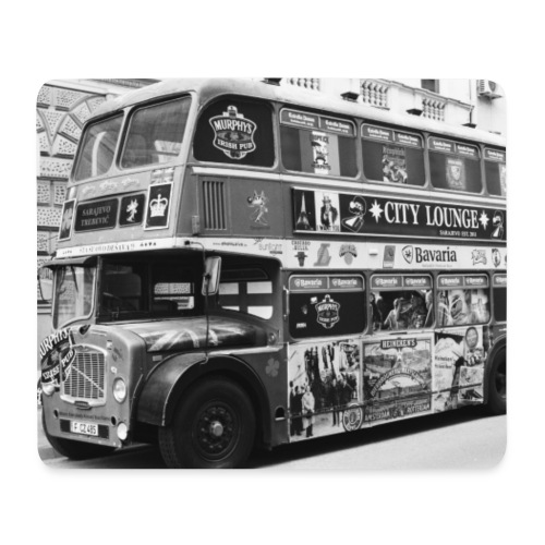 London Bus - Mousepad (Querformat)