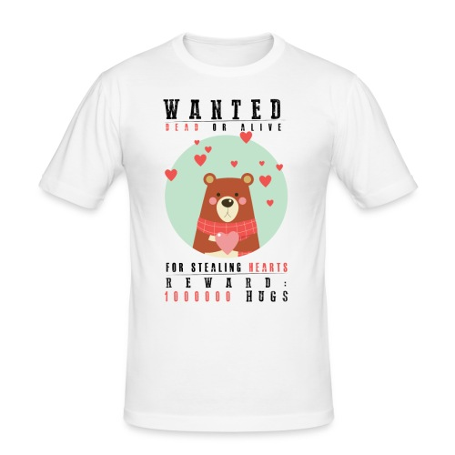 Awww sweet valentine - Men's Slim Fit T-Shirt