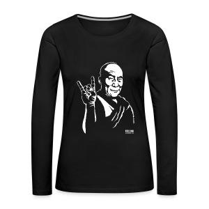 rock lama - Women's Premium Longsleeve Shirt