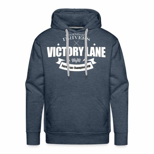 Victory Lane : legendary european drivers - Sweat-shirt à capuche Premium pour hommes