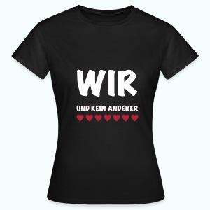 WIR  T-Shirts - Frauen T-Shirt