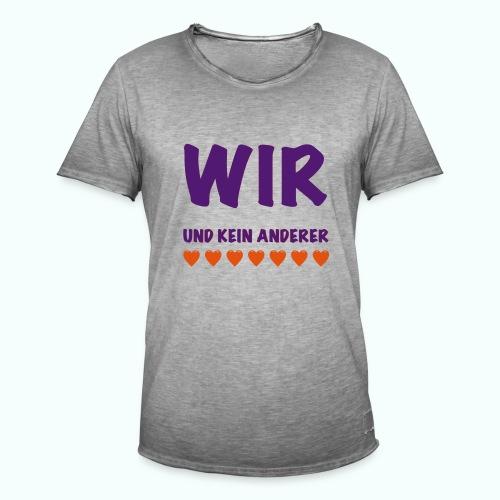 WIR  T-Shirts - Men's Vintage T-Shirt