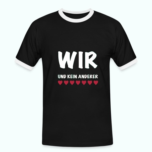 WIR  T-Shirts - Men's Ringer Shirt