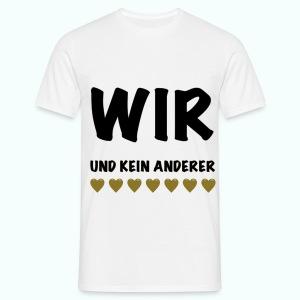 WIR  T-Shirts - Männer T-Shirt