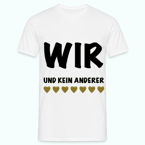 WIR  T-Shirts - Men's T-Shirt