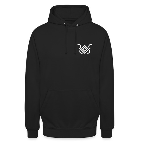 Owl-Logo + Spruch - Unisex Hoodie