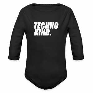 Techno Kind Strampler - Baby Bio-Langarm-Body