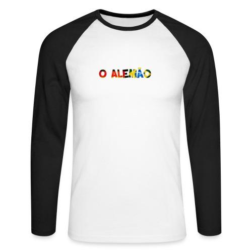 Longsleeve 'O Alemão'  - Männer Baseballshirt langarm