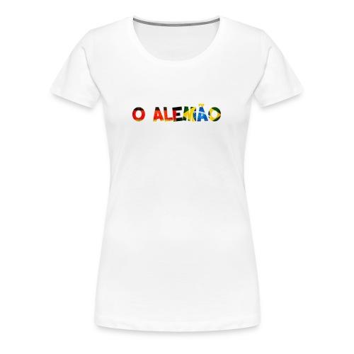 Camisa 'O Alemão' Meninas  - Frauen Premium T-Shirt