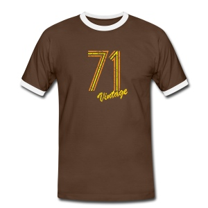 71 vintage T-Shirts - Men's Ringer Shirt