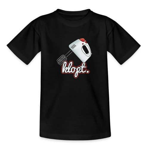 Klopt tienershirt - Teenager T-shirt