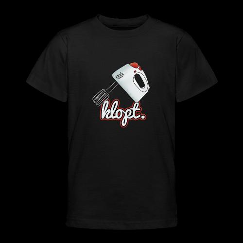 Klopt tienershirt - Teenager T-shirt