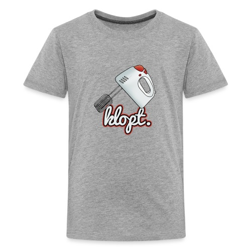 Klopt tienershirt - Teenager Premium T-shirt