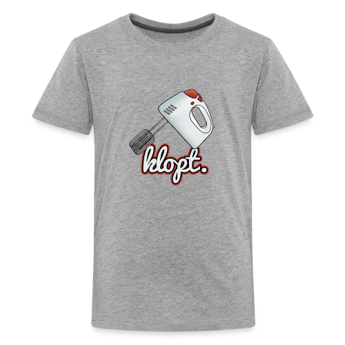 Klopt tienershirt - Teenager Premium T-shirt