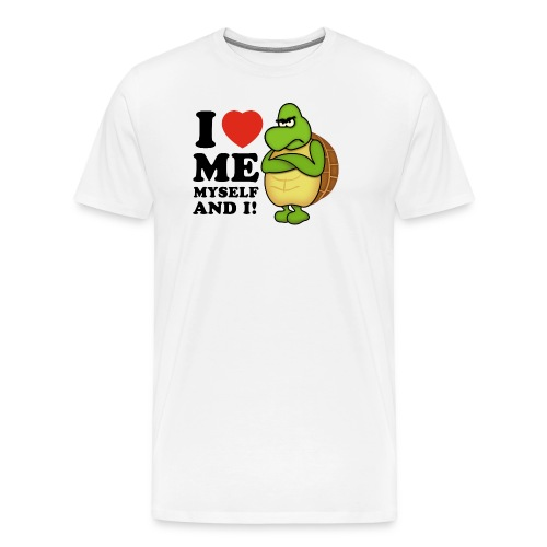 Valentines day - I love ME, Myself and i! - Männer Premium T-Shirt