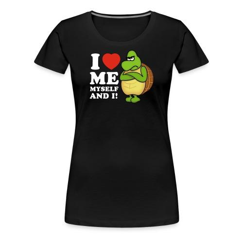 Valentines day - I love ME, Myself and i! - Frauen Premium T-Shirt