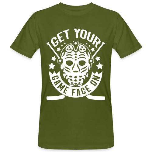 Get Your Game Face On Men's Organic T-Shirt - Men's Organic T-Shirt