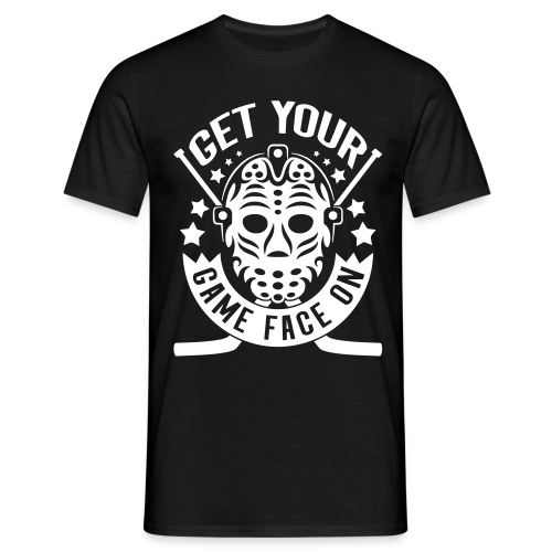 Get Your Game Face On Men's T-Shirt - Men's T-Shirt