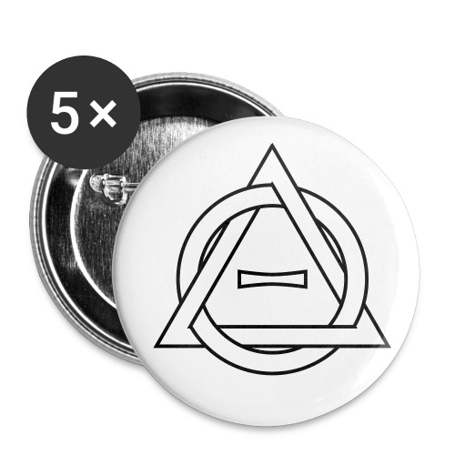 Therianthropy button pack - Buttons medium 1.26/32 mm (5-pack)