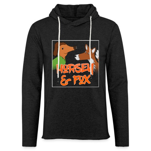 Unisex Horsey & Fox Hoodie (2017 Design) - Light Unisex Sweatshirt Hoodie