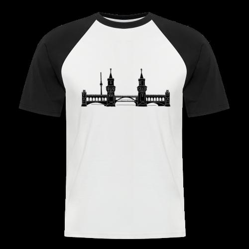 Oberbaumbrücke in Berlin 2 - Männer Baseball-T-Shirt