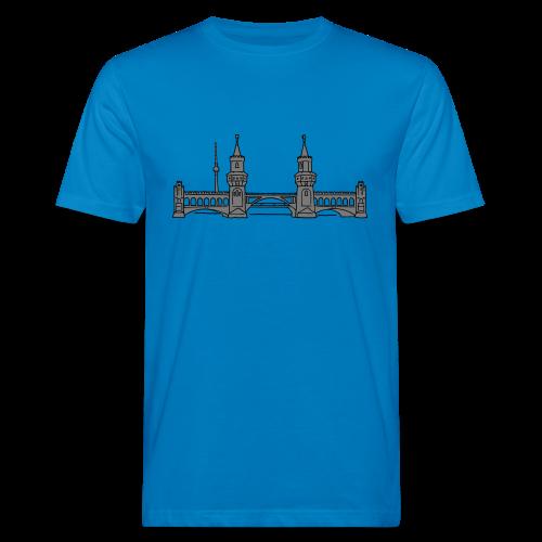 Oberbaumbrücke in Berlin 2 - Männer Bio-T-Shirt