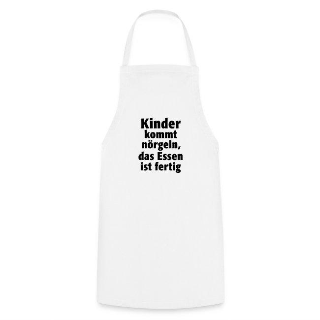 Kinder kommt nörgeln, das Essen ist fertig. kochen