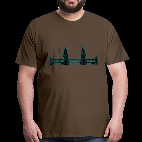 Oberbaumbrücke in Berlin 2 - Männer Premium T-Shirt