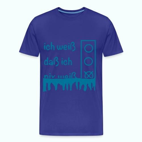 NIX   T-Shirts - Men's Premium T-Shirt