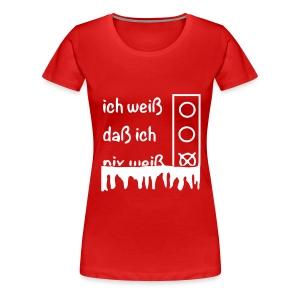 NIX   T-Shirts - Frauen Premium T-Shirt