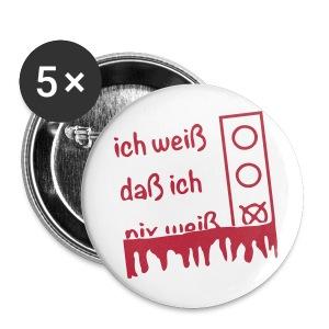 NIX   Buttons & Anstecker - Buttons groß 56 mm