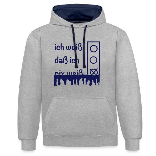 NIX   Pullover & Hoodies - Kontrast-Hoodie