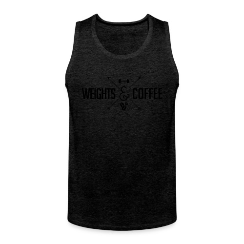 Weights & Coffee Tank Bros - Männer Premium Tank Top